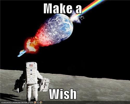 Nyan Cat planet space wish - 5477111296