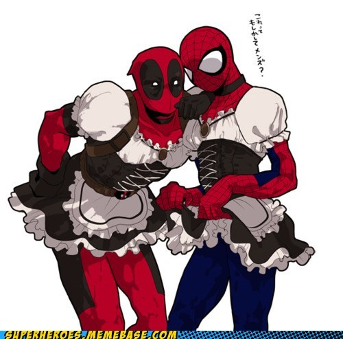 Awesome Art best of week deadpool sexy sisters Spider-Man - 5477543424
