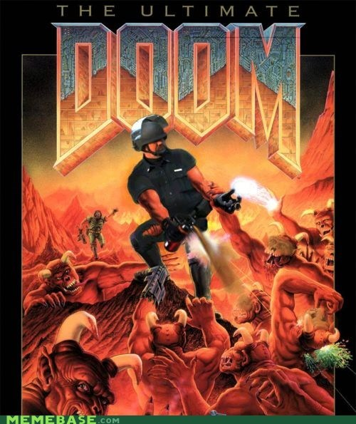 doom,Pepper Spray Cop,video games