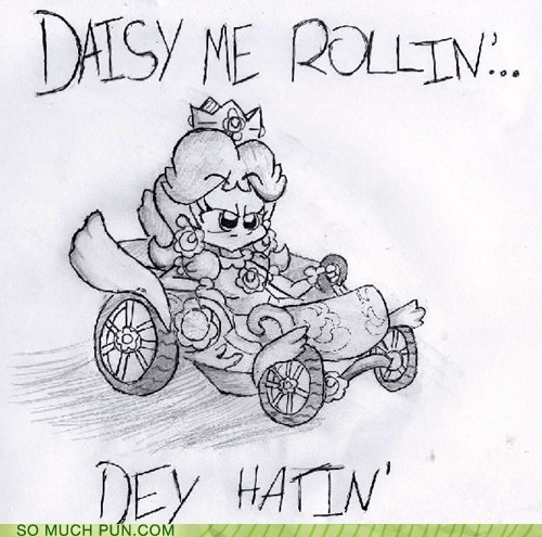 chamillionaire daisy literalism lyric Mario Kart riding dirty see similar sounding song they