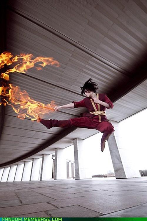 Avatar the Last Airbender best of week cosplay firebending prince zuko - 5477872384