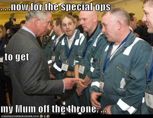 political pictures prince charles Queen Elizabeth II - 5478330112