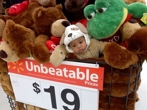 costume derp face g rated parenting Parenting Fail sale store stuffed animal toy Walmart