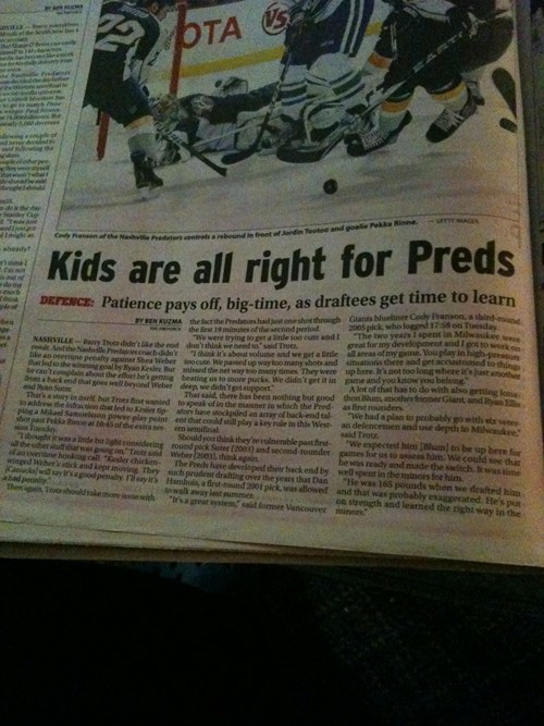 hockey innuendo pedo Probably bad News - 5478749184
