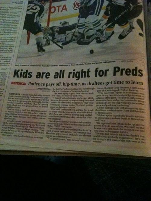 hockey innuendo pedo Probably bad News - 5478749184