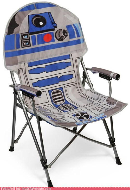 camping chair droid r2-d2 robot star wars - 5478962688