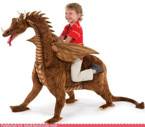 best of the week decor dragon huge Plush stuffed - 5478977280