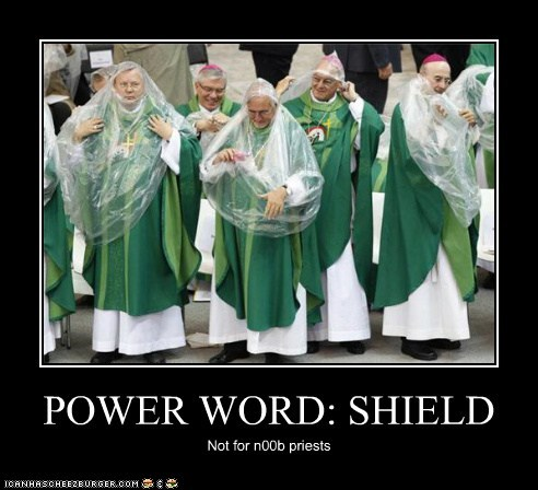 POWER WORD: SHIELD Not for n00b priests