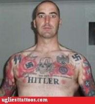 bigtory hitler psychopath racism swastikas