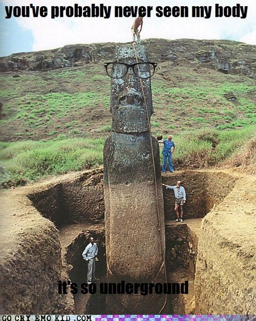 best of week,easter island,hipster,hipsterlulz,underground