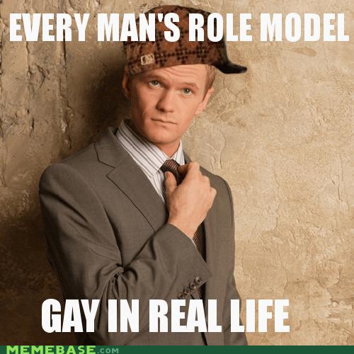 barney stinson dude gay Role Model Scumbag Steve - 5479848192