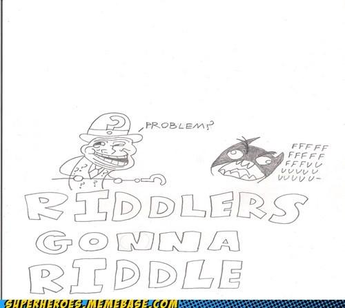 Awesome Art batman Riddler troll - 5480004096
