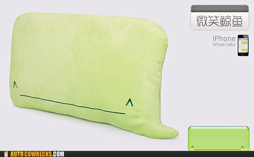 iphone whale Pillow product whale - 5480408064