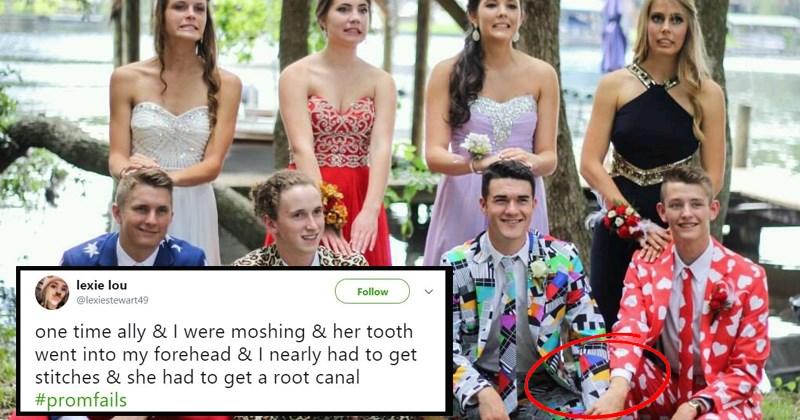 prom fails twitter awkward pics Awkward awkward prom high school prom funny prom 2018 blunder years - 5480965