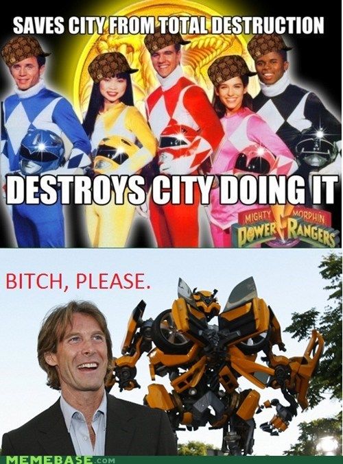 michael bay please power rangers Reframe Scumbag Steve transformers - 5481110016