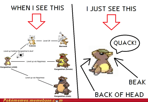 back of head beak cant-unsee duck Memes new pokemon - 5481126144