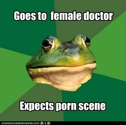 doctor,female,foul bachelor frog,gross,pr0n,redtube