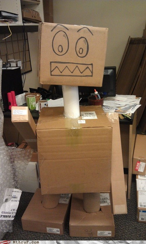 bored at work,boxes,work friends