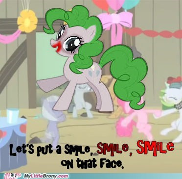 crossover pinkie pie smile the joker - 5481497344