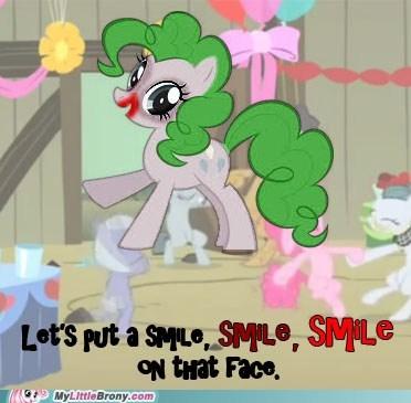 crossover pinkie pie smile the joker - 5481497344