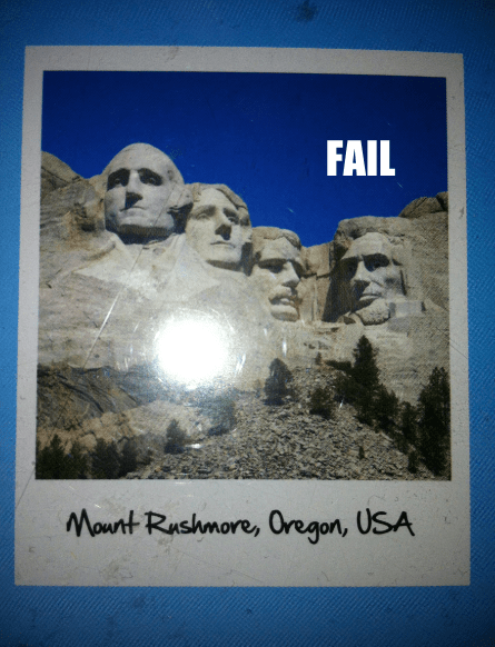 AMERRICA geography Hall of Fame history Mount Rushmore oh oregon - 5481926656