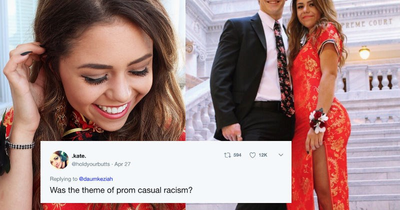 twitter racism China controversy high school prom reaction - 5481989