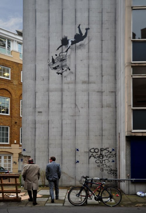 banksy Street Art This x That - 5482121984