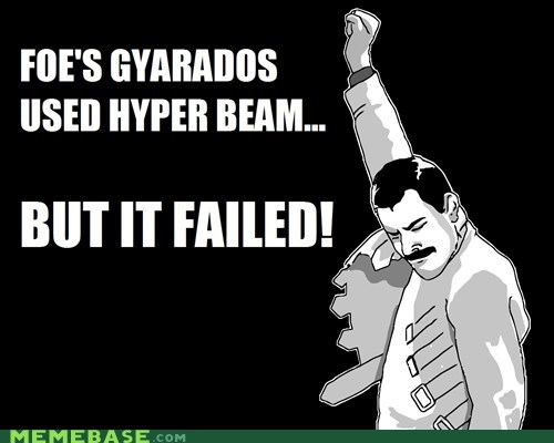 awesome failed hyper beam Memes success - 5482340352