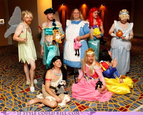 cool accessories,cosplay,disney,men,princesses