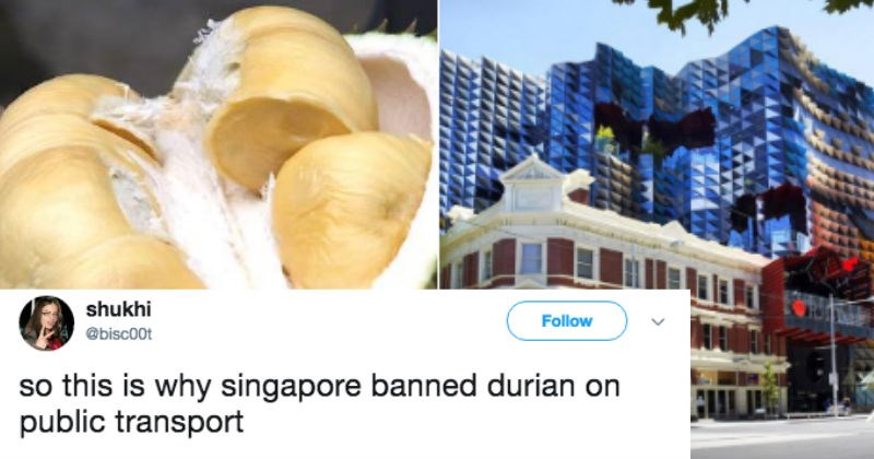 asian emergency firefighters FAIL durian australia melbourne smelly fire department evacuation fruit - 5482501