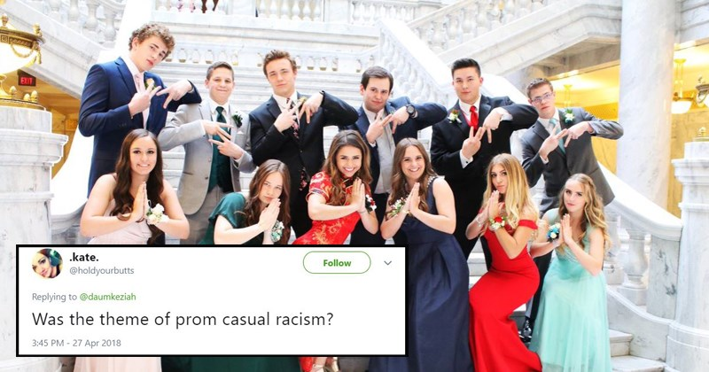 twitter racism cultural appropriation twitter reacts controversial prom fashion prom prom 2018 the internet reacts high school - 5482757