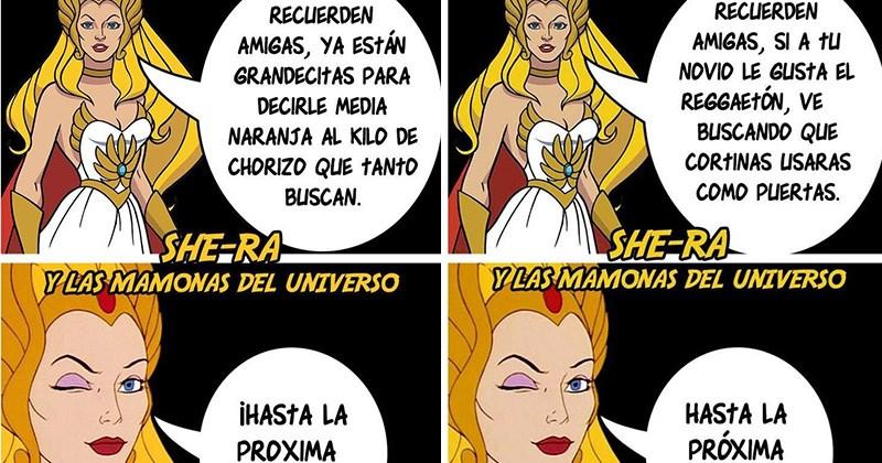 She-Ra mamonas del universo