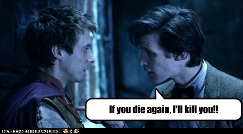 arthur darvill,Death,die,doctor who,kill,Matt Smith,rory williams,the doctor