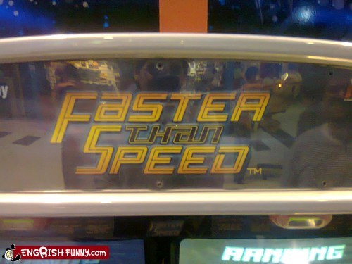 THAT´S REALLY FAST!!!!