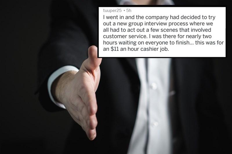 hired relatable cringe bad job interview hiring Reddit job interview interview funny cringe interview - 5484037