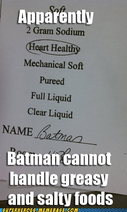 batman food healthy Super-Lols - 5484230400