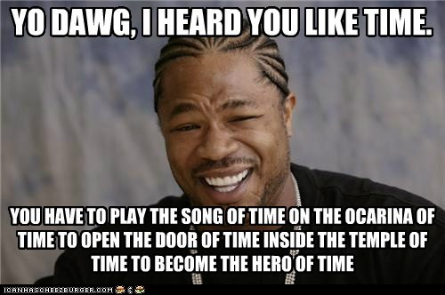 hero ocarina time video games yo dawg zelda - 5484548864