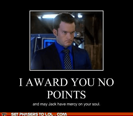 Captain Jack Harkness gareth david-lloyd ianto jones points Torchwood - 5484595712