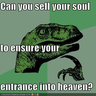 devil entrance halos heaven philosoraptor - 5485388288