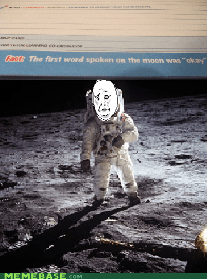 1969 was full of secrets fun landing Memes moon Okay old times - 5485472256