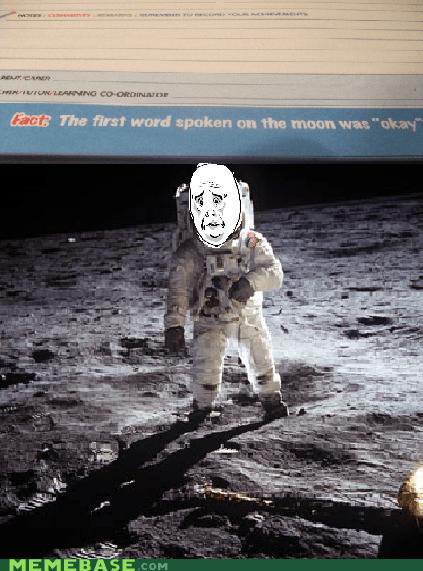 fun landing Memes moon Okay old times - 5485472256