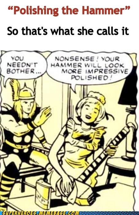 hammer polish sexy times Super-Lols Thor - 5485534976