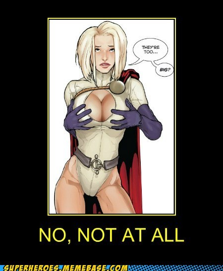 bewbs power girl Sexy Ladies Super-Lols wtf - 5485552384