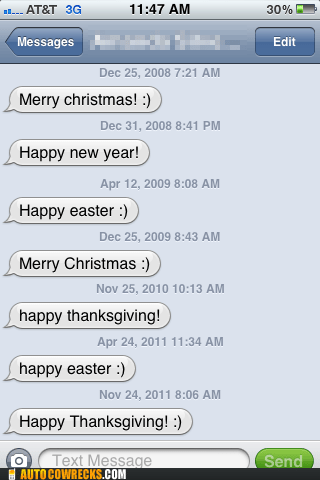 friends holiday holidays mass texts seasons greetings superficial