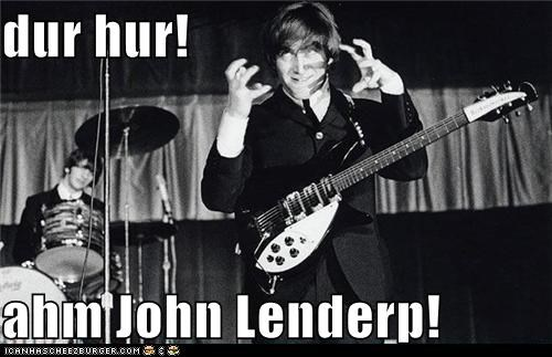 derp john lennon Music the Beatles - 5485882880