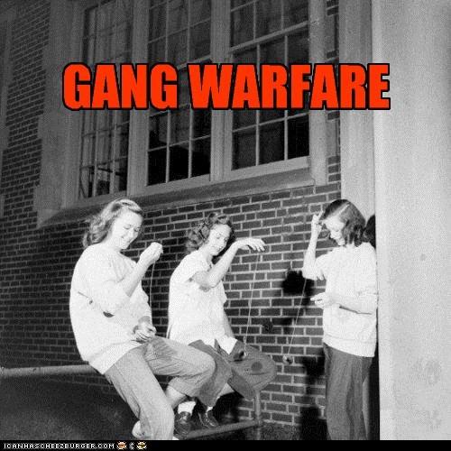 GANG WARFARE