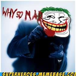 joker,Super-Lols,troll face,u mad bro