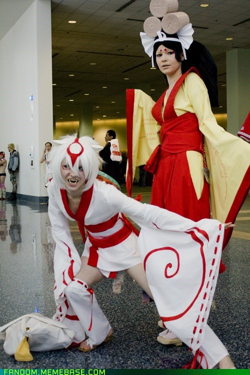 amaterasu cosplay Ōkami Sakuya video games