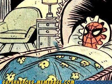 boner Spider-Man Straight off the Page weird - 5487335168