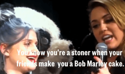 birthday,drugs,Kelly Osbourne,marijuana,miley cyrus,pot,rumors,weed